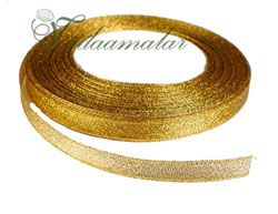 0.5/ 0.25 inch Gold Trim Lace Buy online End Borders - 16 meters / 17.5 yards