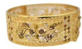 Kada Valai Bangles Bangle Bracelets with intricate decorations