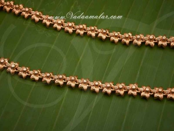 Micro Gold plated Anklets Kolusu Paayal Leg Ornament Indian anklet buy online