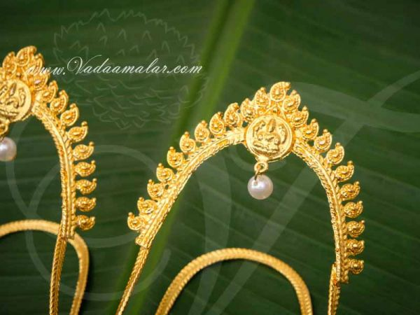 Baju Bandh Armlet Gold Plated Upper Arm Band Vanki Buy Now