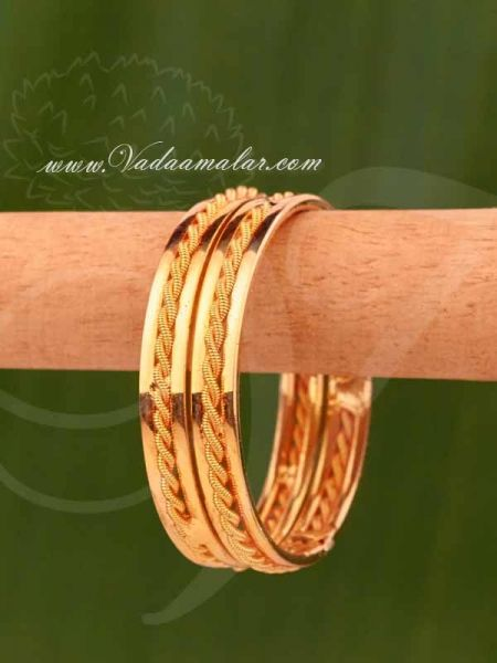 Buy Baby Kids Gold Plated Bangles Bracelets in Small Size