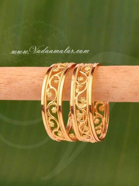 Buy Baby Bangle Gold Plated Bangles Bracelets in Small Size Buy Now