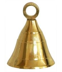 6 pieces Brass Small Tinker Bell Bells Buy Online India Mani - 2 inches height