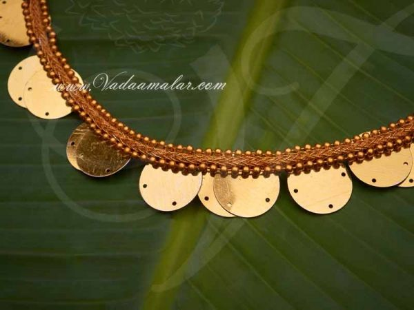 Fancy Dress Imitation Coin Necklace for Costumes and Drama