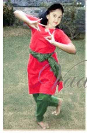 36 size Red And Green Kuchipudi Bharatanatyam Dance Practice Learning Salwar Kameez Costume India