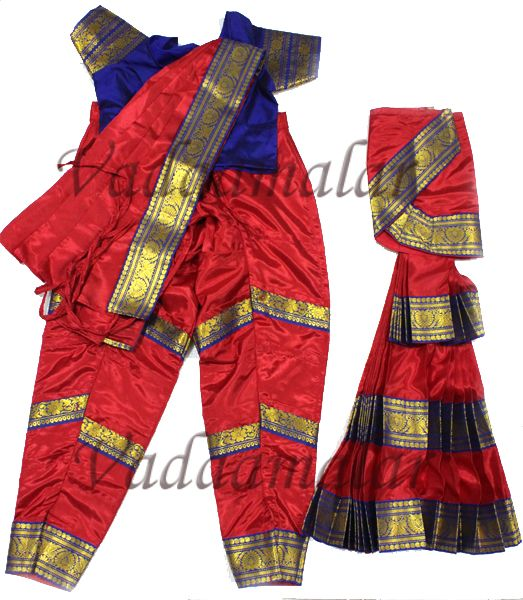 Bharatanatyam Costumes online Dance Dress for Young Girls Traditional India Indian Dresses