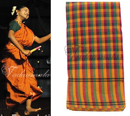 Folk dance of South India costume Harvest Indian Traditional Dances