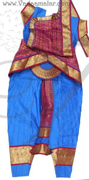 Ready to wear Made Bharatanatyam Pant Model Costume Dress available to buy online