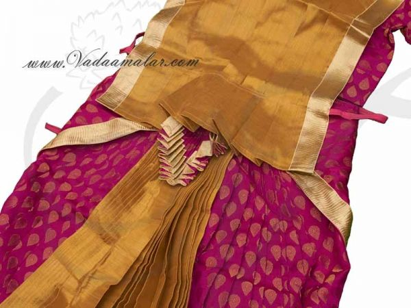 38 Size Ready Made Bharatanatyam Pant Model Costume Dress Available to Buy Online