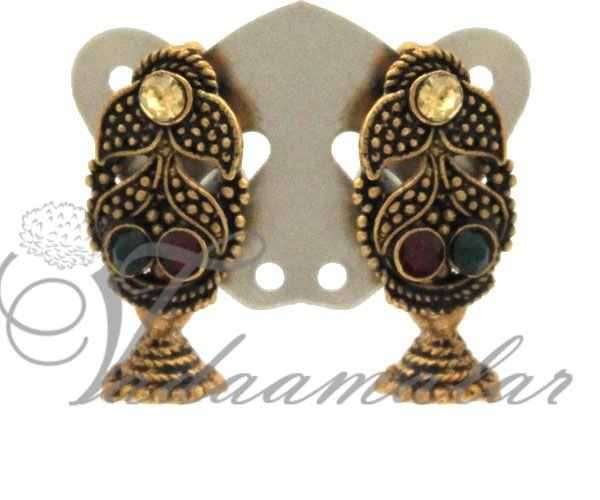 Indian Earrings traditional Ear Studs For Babies - Small size