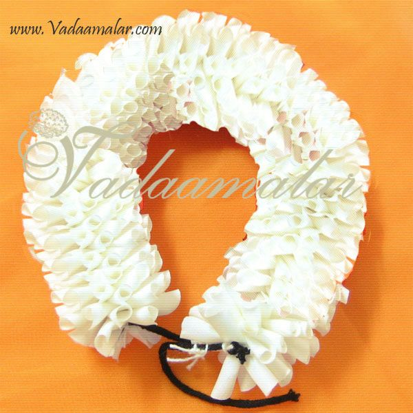 Artificial Half-White Cream Colour Jasmine Flower for hair braid Band Indian Wedding Dances