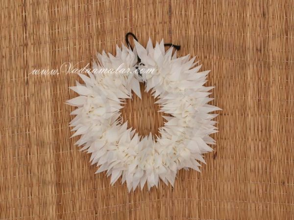 Artificial White Veni Jasmine Flower for hair braid Band Indian Wedding Buy Now