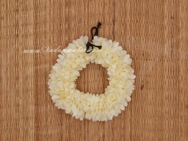 Off White Jasmine design Artificial Flower Strand For Hair / Braid Decorations Buy Now