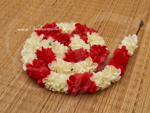 1 meter Synthetic Jasmine flower petals artificial stand line for decorations