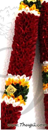 1 meter Cloth Garland Flower Door Decoration Synthetic - Washable