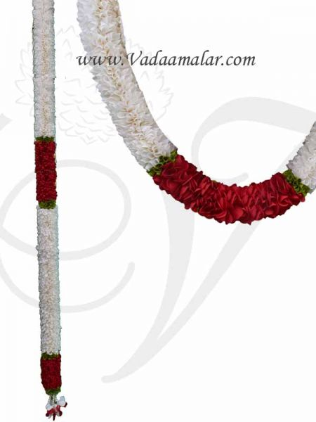 1 meter Cloth Garland Door Decoration Synthetic Flowers - Washable