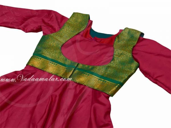32 size Kathak Costumes Ready Made Dresses Salwar Kameez Model Buy Now
