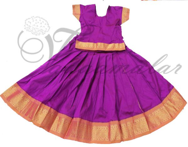 Traditional South Indian Skirt Blouse Costume Any size Pavadaa Chatti Chatta for girls