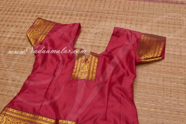 Buy Online Childrens Costume South Indian Pavada Pavadai Chatta chattai Skirt Blouse Costumes