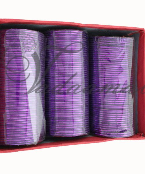 Purple Metal metallic bollywood India Indian bangles bracelets - 144 pieces(12 doz) in one box