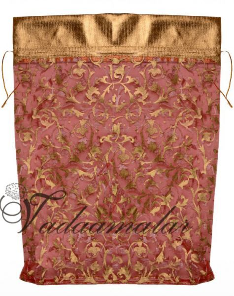 10 nos Mild pink Medium size potli pouch Wedding Return Gifts thamboolam pouches bags