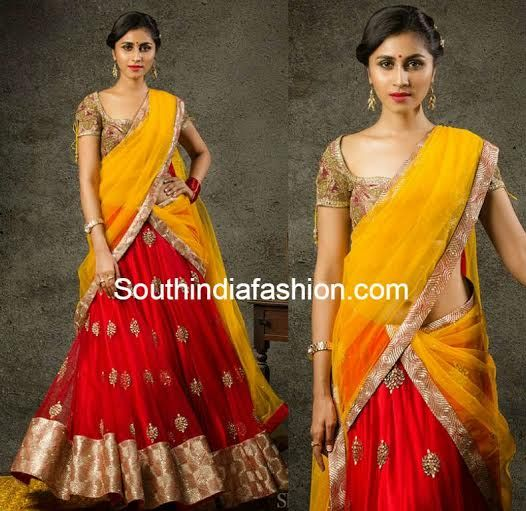 Yellow Lehenga for Jayashree