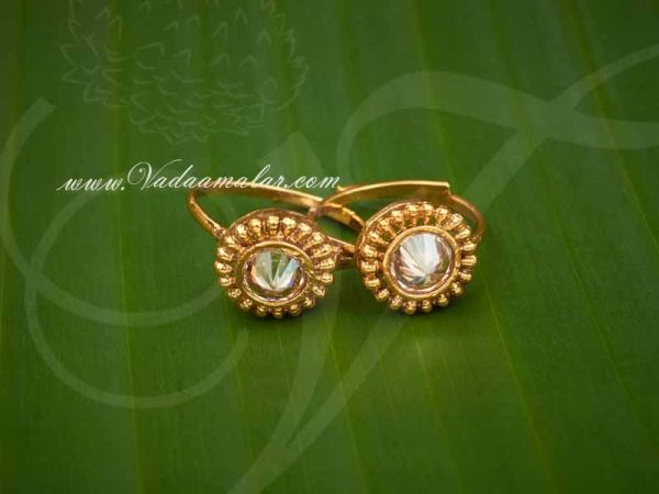 Antique Finish with Kundan Stone Toering India Style Toering Buy Online