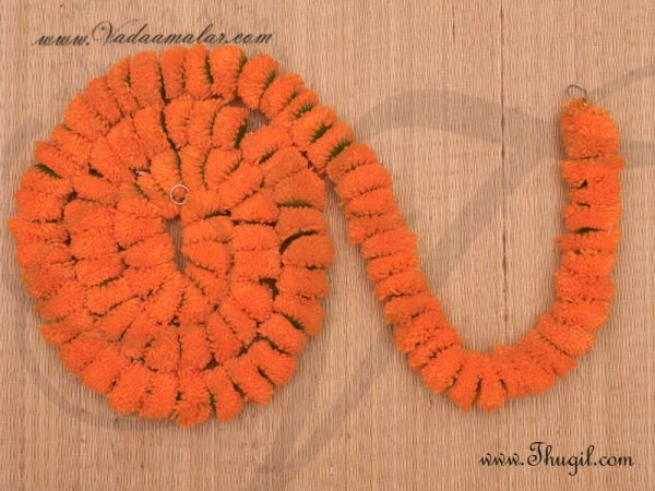 1 meter Buy Marigold Samanthi Fluffy Flowers For Decorations