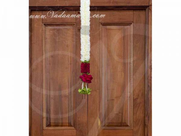 1 feet Cloth Garland Backdrop Decoration Synthetic Flowers Buy Now